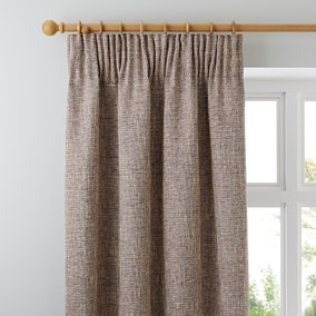 Thornton Claret Pencil Pleat Curtains