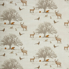 Natural Tatton PVC Fabric