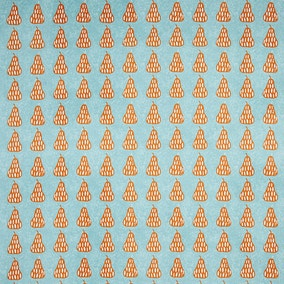 Orange Pear PVC Fabric