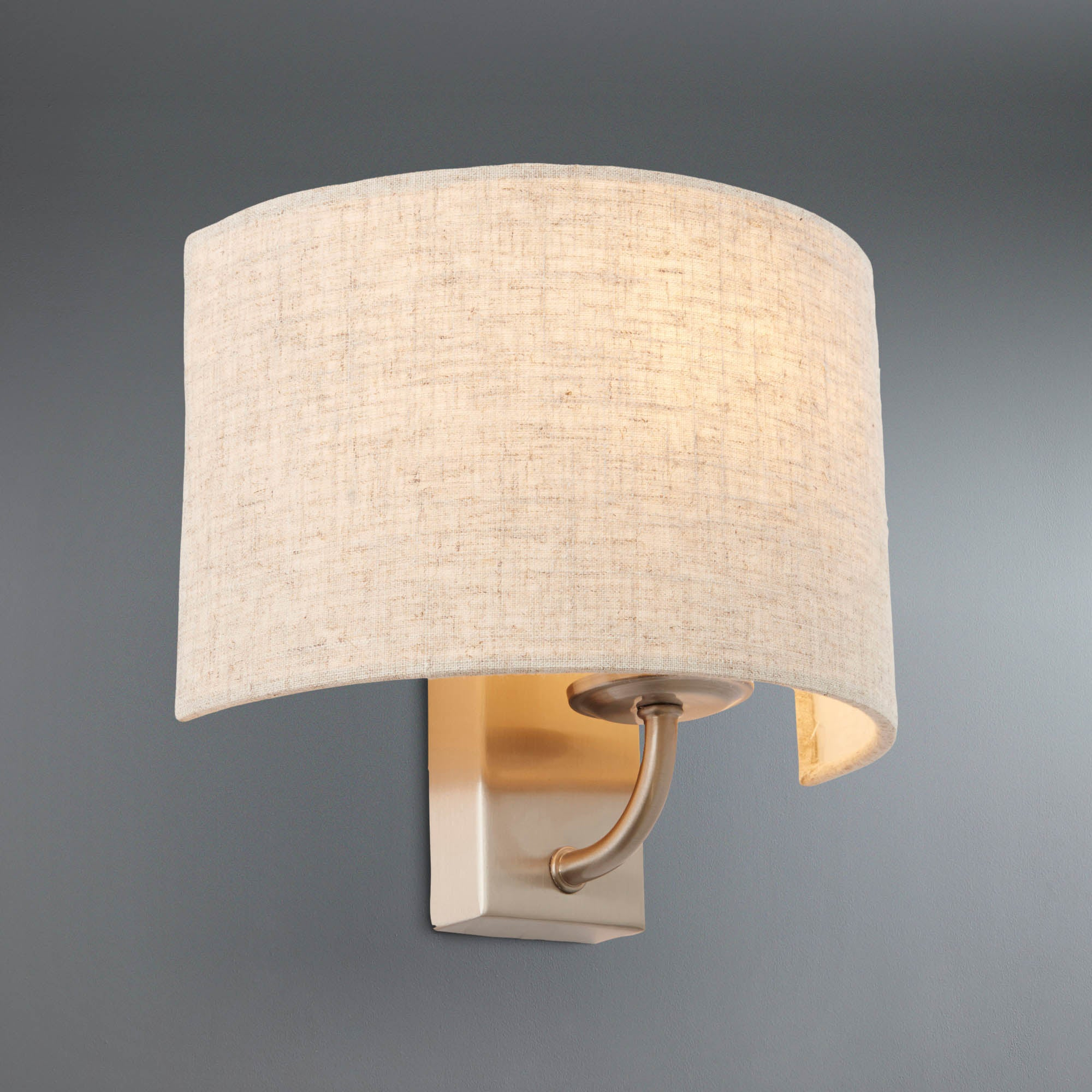 Dunelm Wall Lamp Shades : Preston Wall Light Dunelm