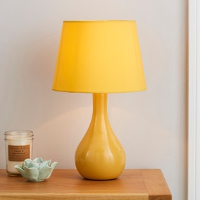 Ruby Ochre Table Lamp