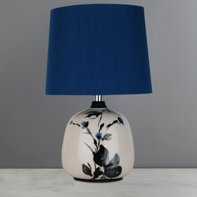 Motril Floral Hand Painted Table Lamp