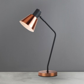 Soho Task Lamp Copper