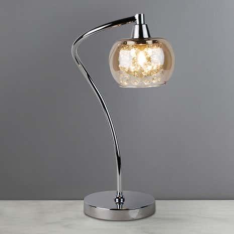 Seychelles Chrome Table Lamp