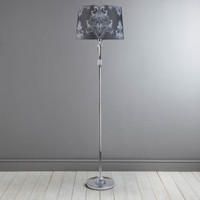 Versaille Charcoal Floor Lamp