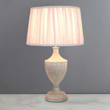 Paris Grey Table Lamp