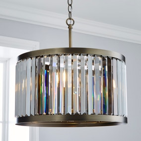 5A Fifth Avenue Granby 3 Light Ceiling Fitting