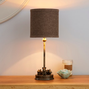 Feltham Bronze Mouse Table Lamp