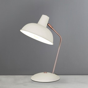 Leiden Cream Desk Lamp