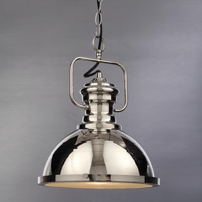 Markwell Nickel Light Fitting