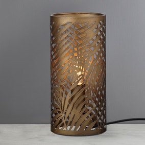 Tahlee Palm Leaf Uplighter Lamp
