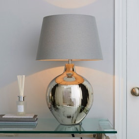 Katara Nickel Table Lamp