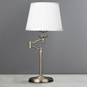 Dorma Elmbridge Swing Arm Table Lamp