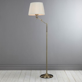 Dorma Elmbridge Swing Arm Floor Lamp