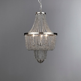 Tapil Smoke Chandelier Fitting