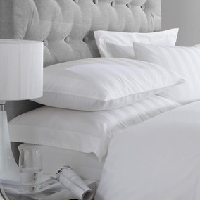 5A Fifth Avenue Egyptian Cotton 300 Thread Count Stripe White Oxford Pillowcase