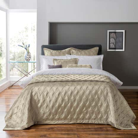 5A Fifth Avenue Chrysler Champagne Bedspread