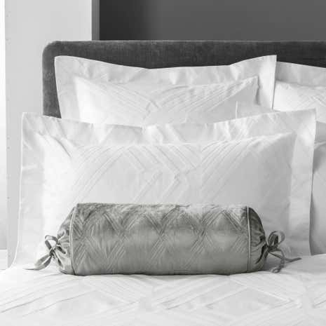 5A Fifth Avenue Chrysler Grey Bolster Cushion