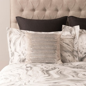 5A Fifth Avenue Delancey Silver Cushion