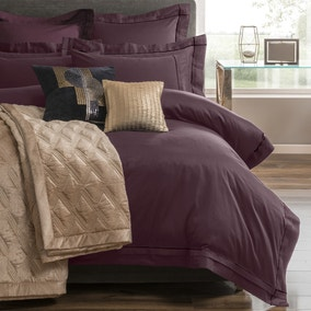 5A Fifth Avenue Portland Plum Duvet Cover