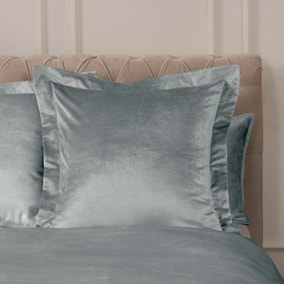 Dorma Camberly Pewter Continental Pillowcase