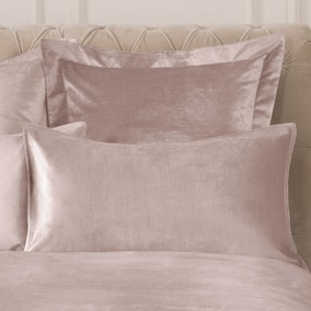 Dorma Camberly Blush Housewife Pillowcase Pair