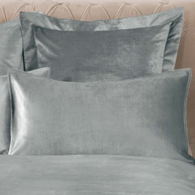 Dorma Camberly Pewter Housewife Pillowcase Pair