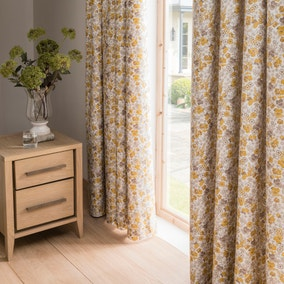 Dorma Hidcote Pencil Pleat Blackout Curtain