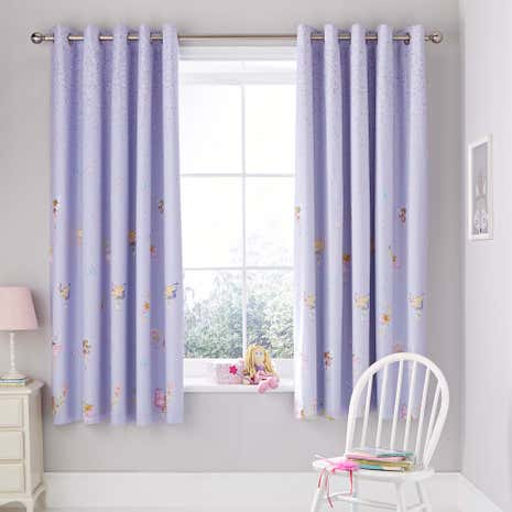 Fairy Castle Blackout Eyelet Curtains
