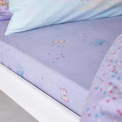 Fairy Castle Fitted Sheet