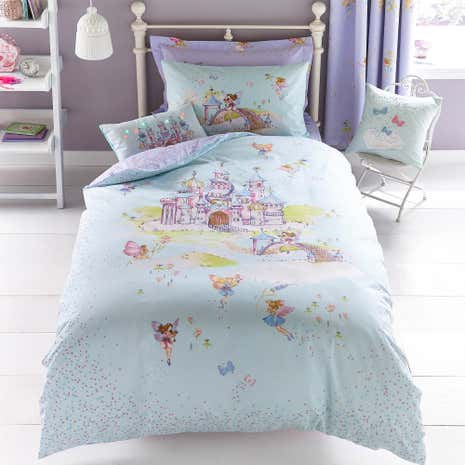 Fairy Castle Duvet Cover and Pillowcase Set