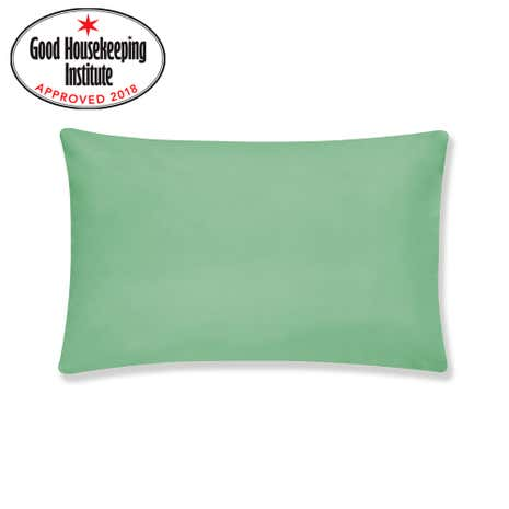 Kids Non Iron Green Pillowcase
