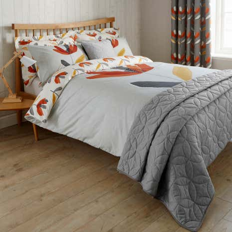 Elements Blomma Reversible Duvet Cover And Pillowcase Set
