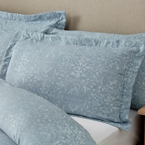 Marsella Blue Jacquard Oxford Pillowcase