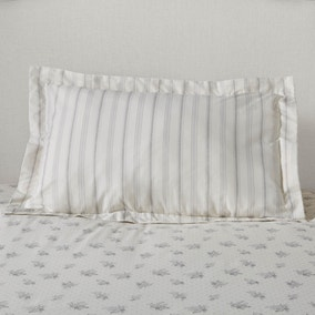 Mia Grey Oxford Pillowcase