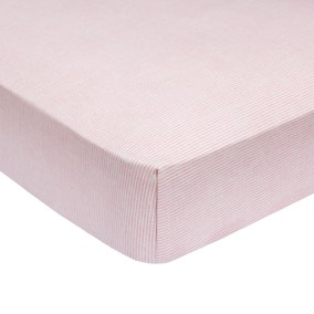 Rosie Pink Fitted Sheet