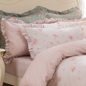 Rosie Pink Oxford Pillowcase