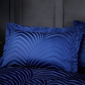 Theo Blue Jacquard Oxford Pillowcase
