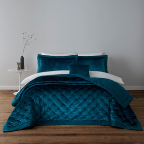 Velvet Teal Pillow Sham