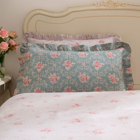 Vintage Floral Pillowsham