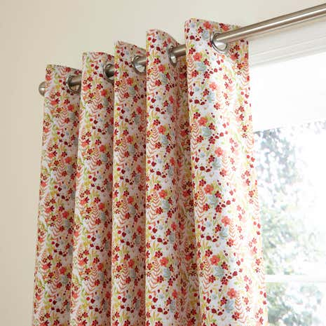 Woodland Eyelet Blackout Curtains