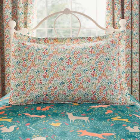 Woodland Ditsy Oxford Pillowcase