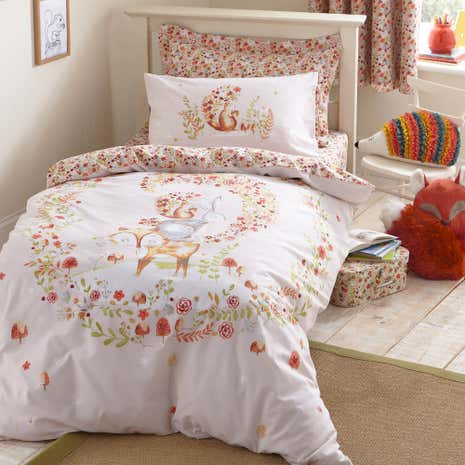 Woodland Duvet Cover and Pillowcase Set