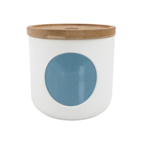 Elements Small Blue Canister