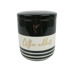 Glam Coffee Canister