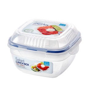 Lock & Lock Square Lunch Box Tray and Sauce Pot