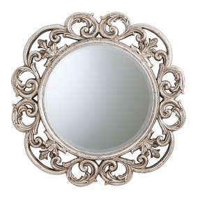 Chartwell Silver 91cm Wall Mirror