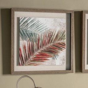 Palm Leaves Framed Print