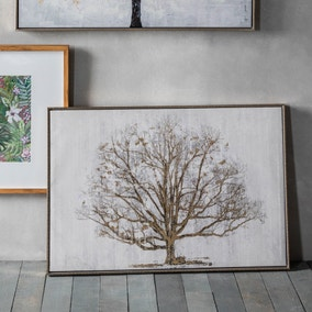 Golden Oak Framed Print