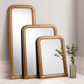 Worthington Gold 84x56cm Wall Mirror